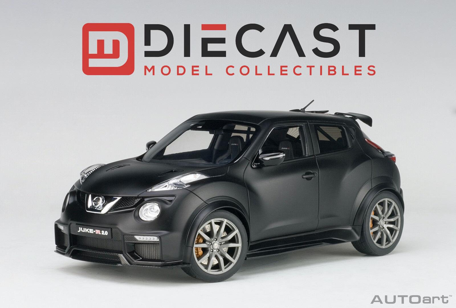AUTOART 77458 Nissan Juke R 2.0 (Noir mat) 1 18TH échelle