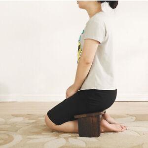 Zen Folding Meditation Stool Tung Wooden Bench Yoga Chair