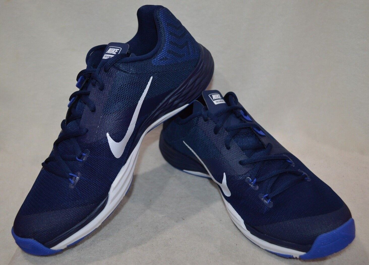 Nike Train Prime Iron chaussures DF Bleu/blanc homme Training chaussures Iron - Assorted ddadf7