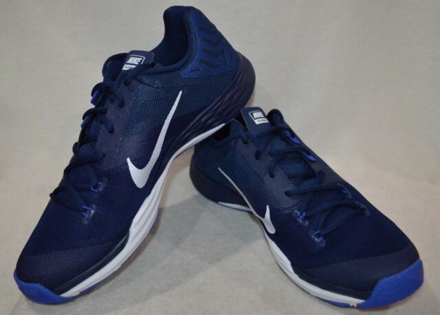 Nike Train Prime Iron DF Blue White Men s Training Shoes - Assorted Sizes  NWB 08712dd73
