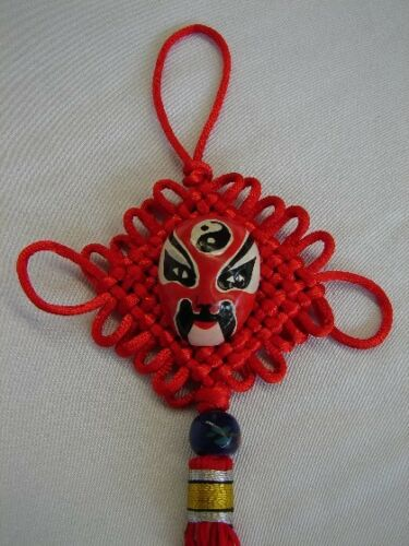 Feng Shui Chinese Mask Charm
