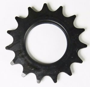 "Track Sprocket 1//2x1//8/"" BLACK Fixed Gear Single Speed Cog Fixie 14 15 16 17 18 t"