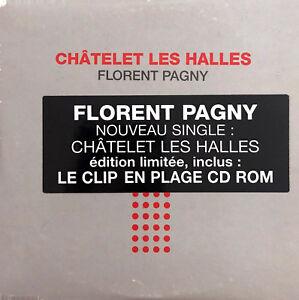 Florent-Pagny-CD-Single-Chatelet-Les-Halles-France-VG-EX