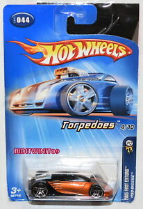 HOT WHEELS 2005 FIRST EDITIONS ITSO-SKEENIE TORPEDOES 4//10 #044 FACTORY SEALED