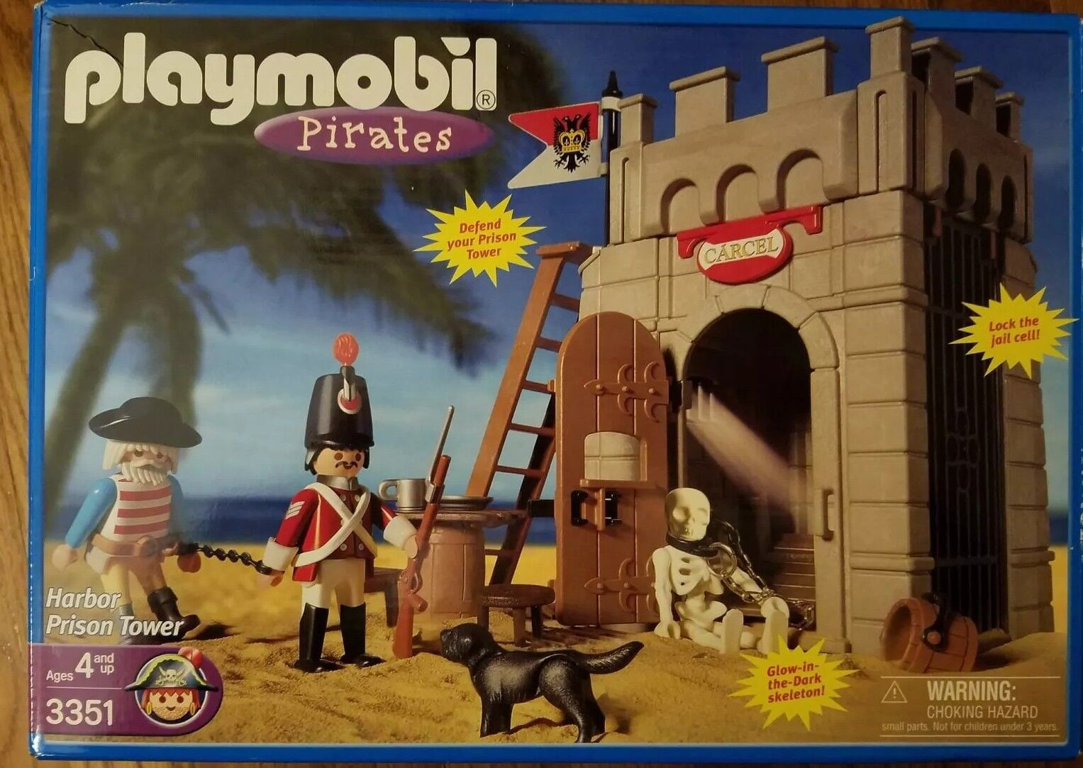 Playmobil Pirates Harbor Prison Tower 3351