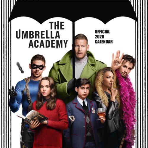 Umbrella Academy Offizieller Kalender 2020 Wandkalender Größe 30x30 cm