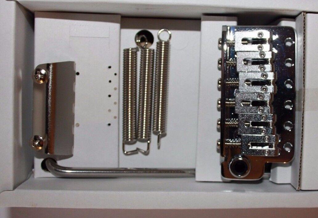 Gotoh 510TS Tremolo Block Träger aus gefrästem Stahl 6 Loch 11.2   56 mm