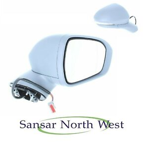 Door Mirror Cover Primed With Lamp Nearside Left Hand LH Ford Mondeo 2014