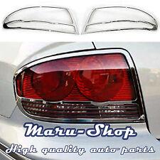 Chrome Rear Tail Light Lamp Cover Trim for 02~05 Hyundai Sonata