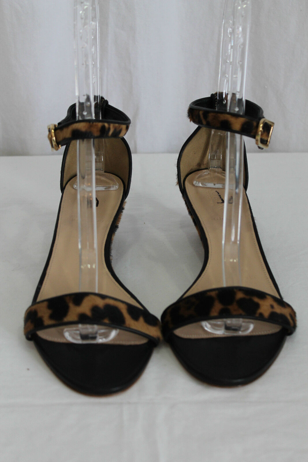 J SANDALS CREW COLLECTION LILLIAN CALF HAIR SANDALS J SIZE 5 7bf77f