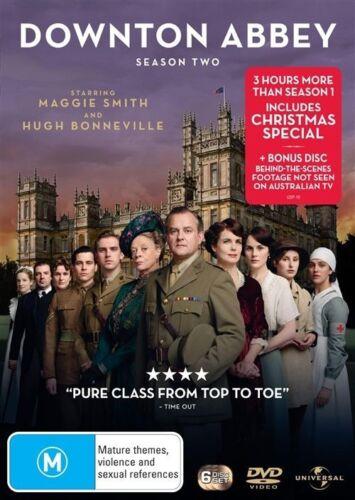 1 of 1 - Downton Abbey - Season 2 (DVD, 6 Disc Set) NEW R4