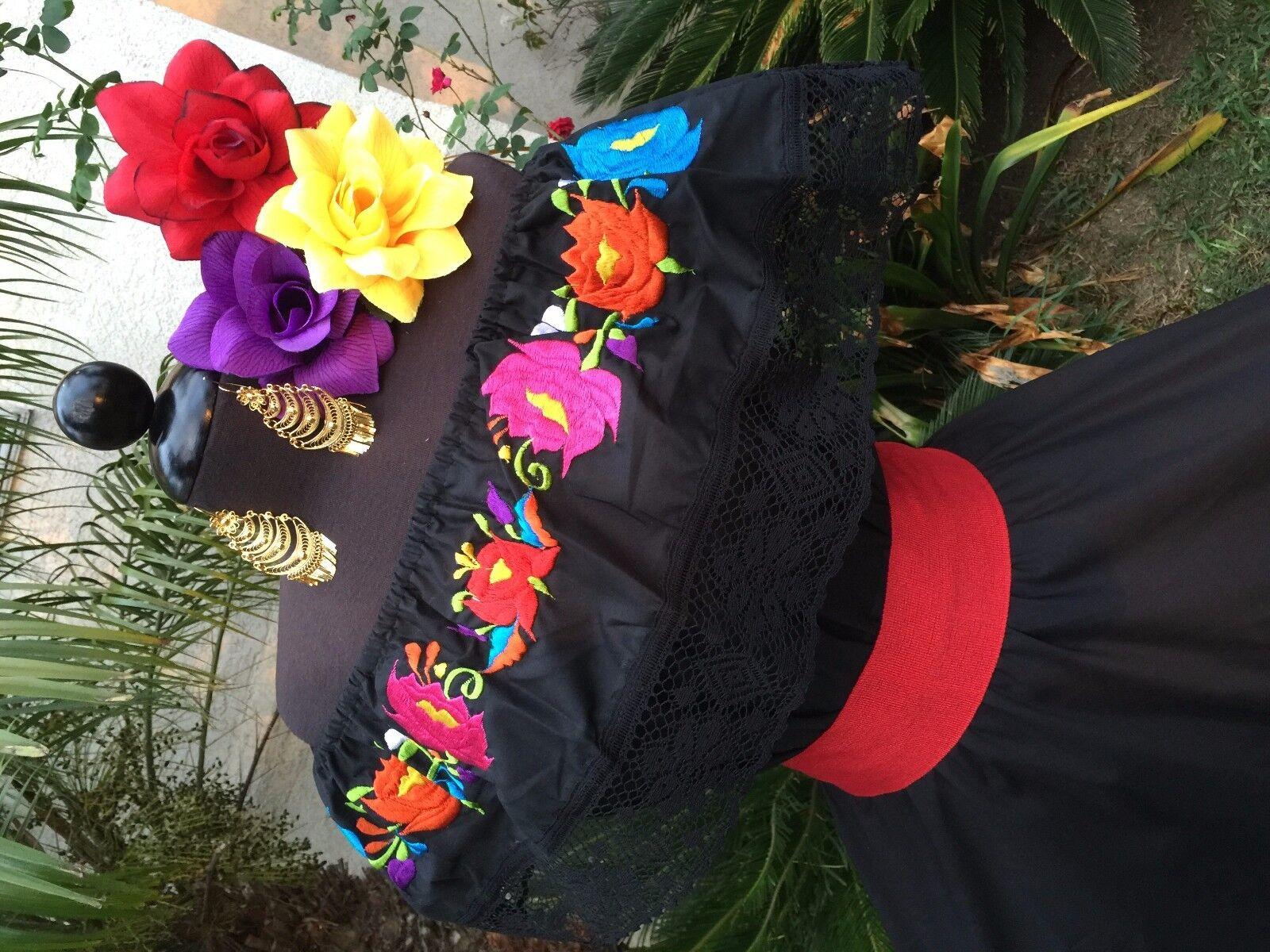 Vestido Fiesta Mexicana Odzież Damska Mexican Dress Fiesta5