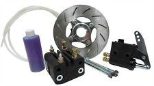 "Light Weight Hydraulic Disc Brake Kit for 1"" Axle Go Kart Racing Drift Trike"