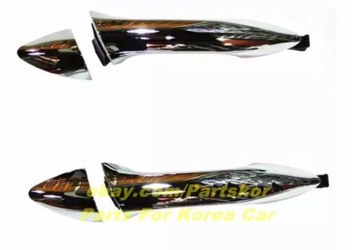 For 2012 ~ 15 Hyundai Elantra MD Outside Door Handle Catch Chrome 8 PCS 1SET