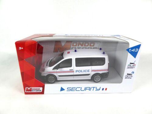 Peugeot Expert French Police 1:43 Mondo Motors MODELLAUTO MINIATUR MSV3