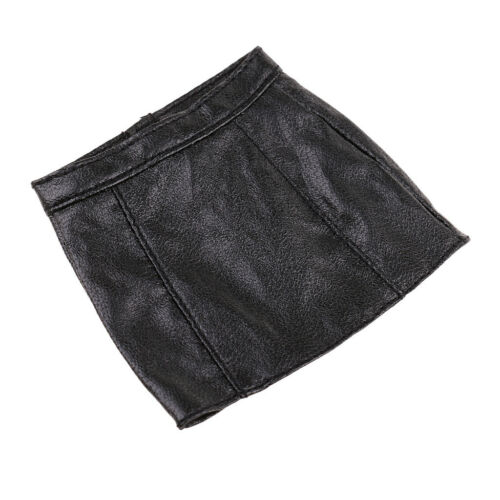 1:6 Black PU Leather Skirt Clothes for 12/'/' Action Figure DIY Accessories
