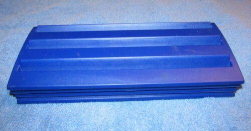 Set of 4 Blue Plastic Rummikub  Racks Tile Holders Trays Replacement
