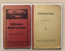 Pratsch Elbtalmärchen 1924 Kinder- und Jugendliteratur Märchen Geschichten xy