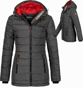Norway stepp Parka Winter ASTANA Mantel Details Geographical