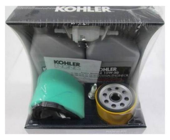 OEM Kohler 1278902 Kit de mantenimiento seleccionar cv460 cv460 cv490 cv491 cv492