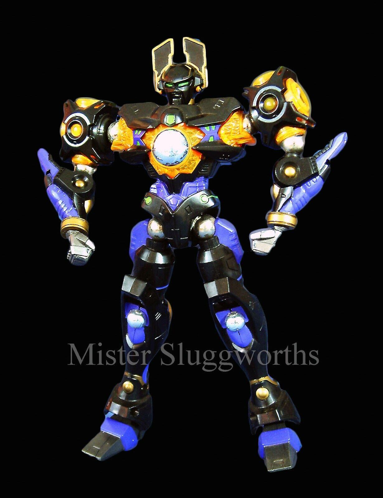 NEW Takara Micronauts Microman 014 Magne Powers Robot Man Baron Action Figure