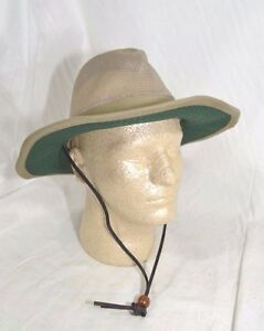 87784566a Details about Dorfman Pacific Global Trends Brushed Twill Safari Hat Mesh  Olive Green M or L