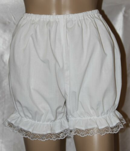 Victorian Edwardian Bloomers With Lace Trim Fancy Dress Steampunk Pantaloons