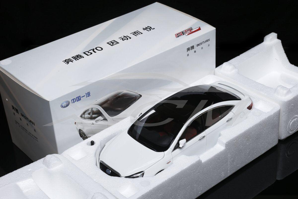 Modello AUTO DIECAST benteng Besteurn B70 Sport RS 1 18 (bianco) + REGALO