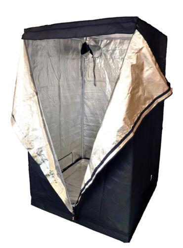 Premium 100cm x 100cm x 200cm 600D ARGENTO MYLAR Grow Tent Bud BOX Idroponica