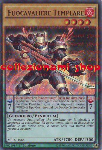 Mp16-it066 fuocavaliere Templar-Ultra Rare-English-collezionami shop