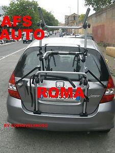 PORTABICI-POSTERIORE-AFS-3-BICI-X-HONDA-JAZZ-X-BICI-UOMO-DONNA-MADE-IN-ITALY