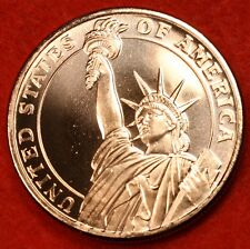 STATUE OF LIBERTY DESIGN I 999% COPPER BULLION ROUND 1 AVDP OZ W/FREE AIR-TITE