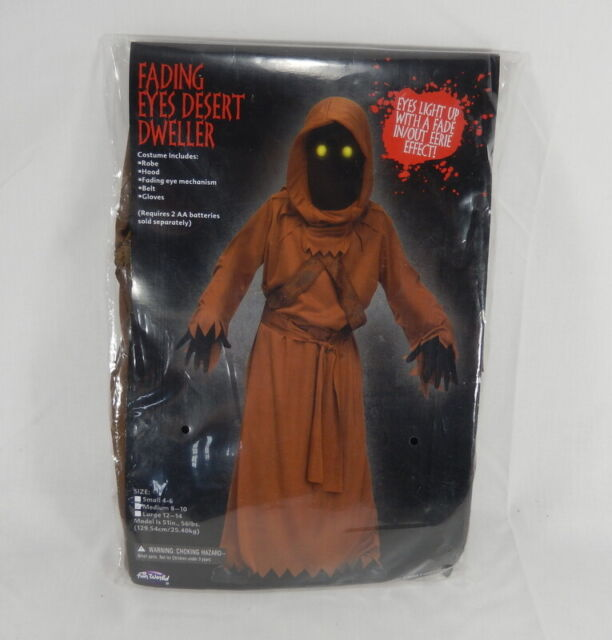 Kids Fade Eye Desert Dweller Jawa Costume