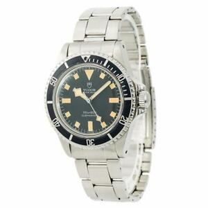 Tudor-Submariner-Snowflake-94010-Mens-Automatic-Vintage-Watch-Year-1979-40mm