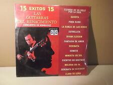 """Las Guitarras del Renacimiento """" 15 Exitos"""" Gavota"""" Para elisa"""" LP SEALED NEW"""