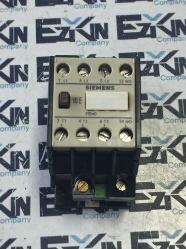 SIEMENS 3TB40 10-0A CONTACTOR 110V COIL