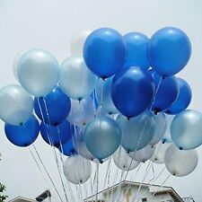 """Pearl Light Blue Balloons 12ct 11/"""" Pastel Latex Birthday Party Shower Supplies"""