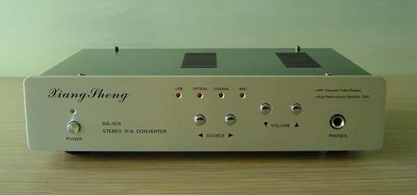 XiangSheng DAC-02A USB Coaxial Optical DIR9001 AD1955 DAC Decoder