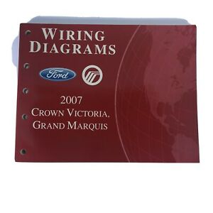 2007 Ford Crown Vic Grand Marquis Wiring Diagrams ...