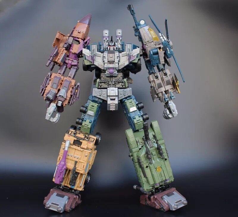 Transformers Transformers Transformers Warbotron BruticusToy Jinbao KO OVERSIZED G1 Combiner f61fc8