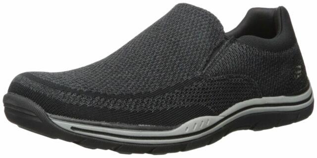 Skechers 65086 BLK Men/'s EXPECTED-GOMEL Loafers