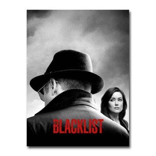 The Blacklist Season 6 TV Series Silk Canvas Poster Home Decor Print 24x32 inch