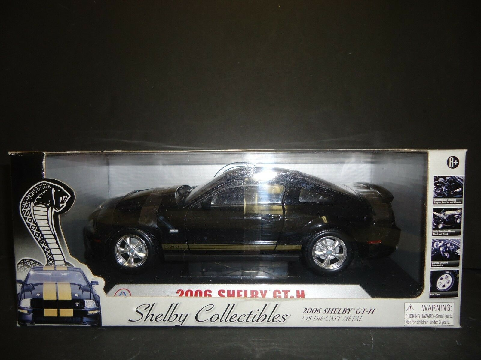 Shelby Collectibles shelby GT-H 2006 1 18 RARE