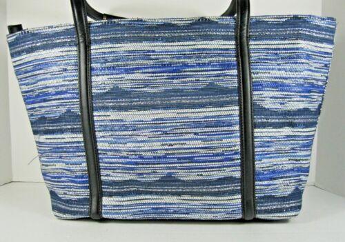 Tracy Blue neuf Klein Black White étiquette Stripes avec Calvin wAYg15qI5