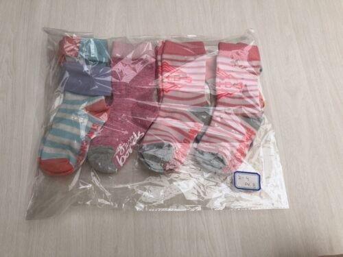 1-2 yr 6-12 mos 10 Pack Baby Girls Size 1-2-4 NEW Bonds Baby Logo Cut Socks