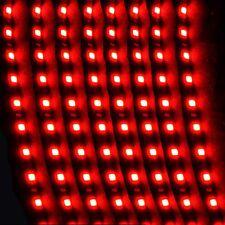 12V 15LEDS 30cm Car Motor Vehicle Flexible Waterproof Strip Light Red 5PCS