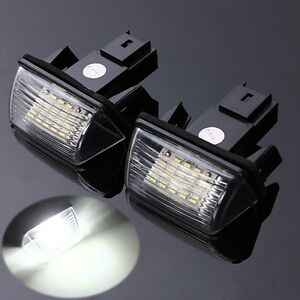 LED-Eclairage-Plaque-d-039-immatriculation-Pour-Peugeot-206-207-308-407-Citroen-3I30