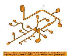 VW VOLKSWAGEN OEM 06-07 Jetta-Engine Control Module Wiring Harness  07K972619Q | eBayeBay