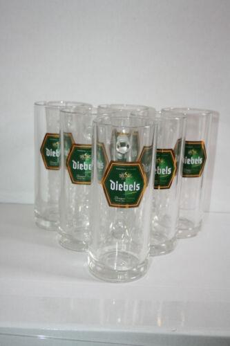 6 Diebels-Alt Bierkrüge mit Henkel 0,5 Liter Biergläser