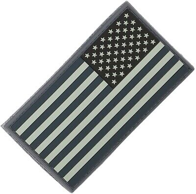 Marchio Popolare Maxpedition Toppa Mxus2rs Reverse Usa Flag Patch - Large Evidente Effetto